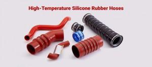 High-Temperature Silicone Rubber Hoses