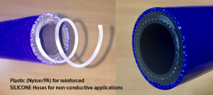 plastic-for-reinforced-silicone-hoses-for-non-conductive-applications