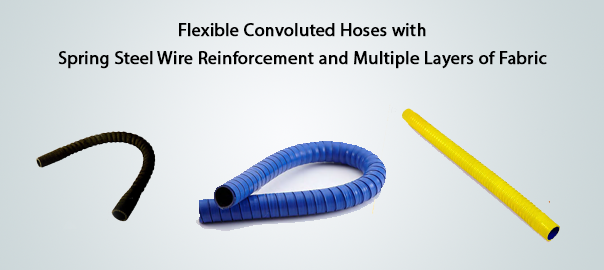 flexible-convoluted-hoses-with-spring-steel-wire-reinforcement-and-multiple-layers-of-fabric